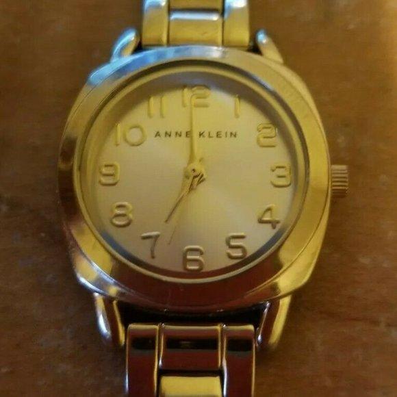 Anne Klein Gold Women's Wrist Watch Analog AK 1378